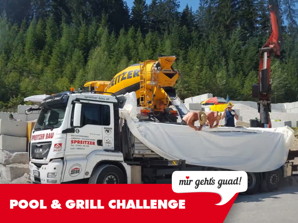 pool & grill challenge